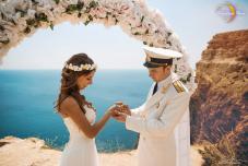 Символическая свадьба в Крыму, отзывы цены, свадьба для двоих, свадьба у моря