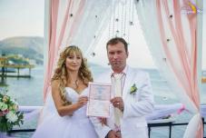 Свадьба в Крыму на берегу моря цены,