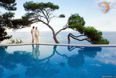 Регистрация брака на берегу моря. Ведущий на церемонию. Свадьба в Крыму