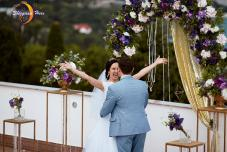 Свадьба в Крыму, выездная церемония на берегу моря, регистрация брака в Крыму
