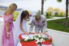 Выездная регистрация брака Партенит. Парк Айвазовский, Ливадия, Алупка