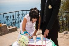 Свадьба на Южном берегу Крыма, Свадьба на Байдарах, Выездная церемония