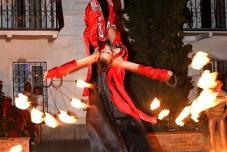 Огненное фаер шоу на свадьбе, ведущий, свадьба в Севастополе, Ялта, Крым