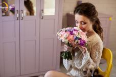 Букет невесты. Свадьба в Крыму. Символическая выездная церемония. Отель Крым
