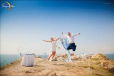 Выездная церемония в Крыму.Места для выездной церемонии в Крыму на берегу моря